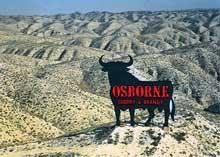 toro osborne letras rojas