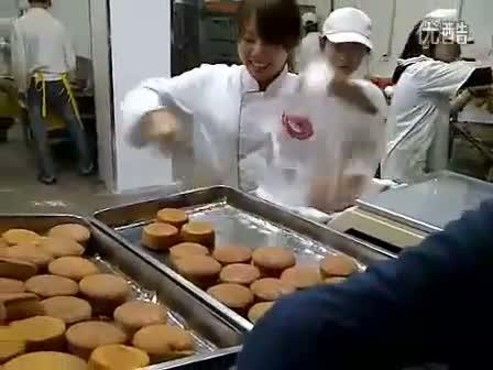 trabajadores rapidos rapidez trabajar china bollos