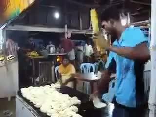 trabajadores rapidos rapidez trabajar india parathas