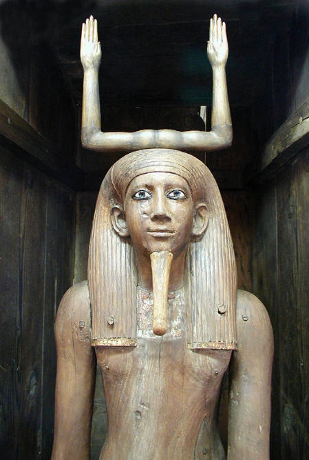 Estatua madera ka Auibra-Hor XVIII dinastia
