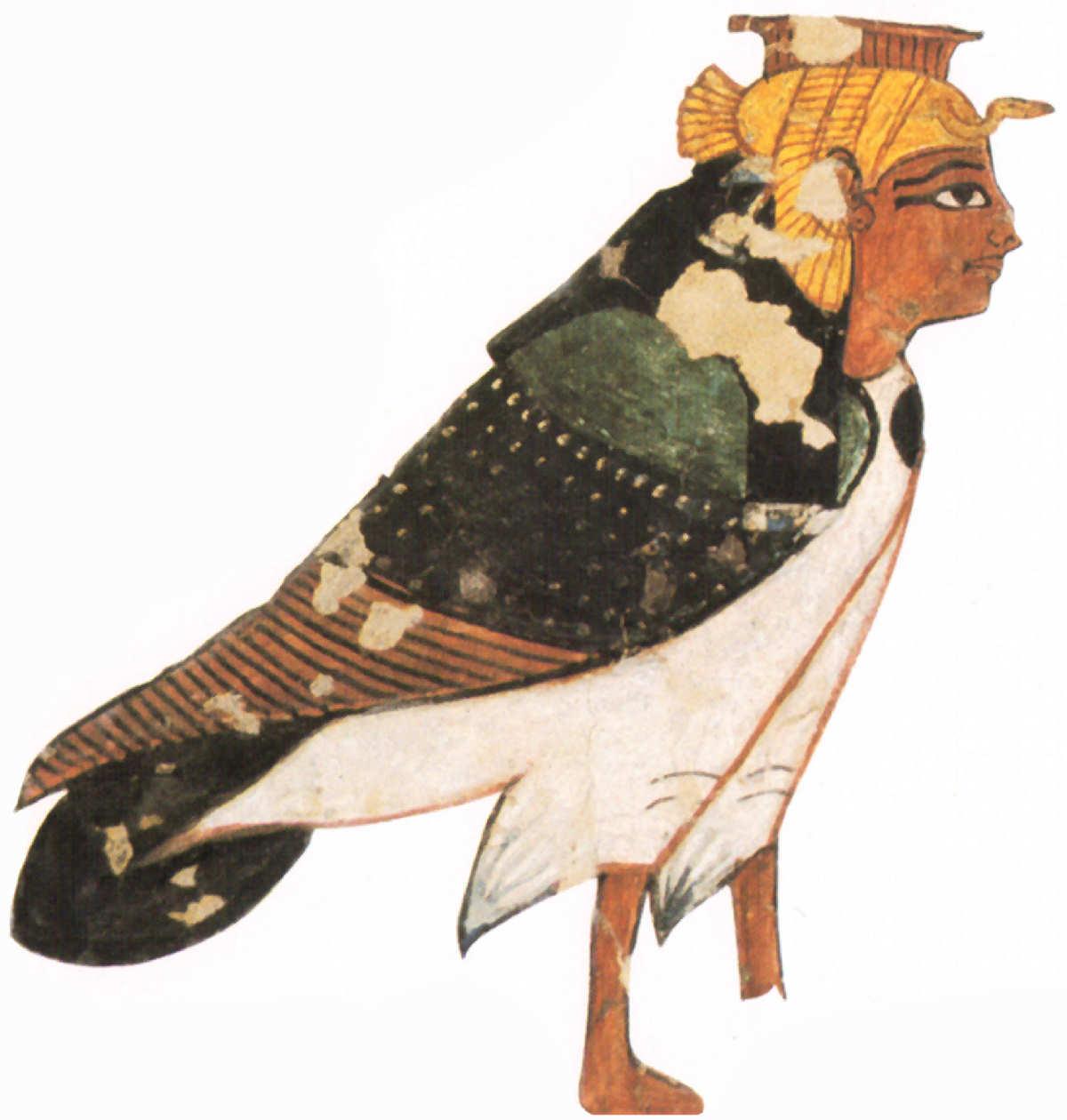 alma ba reina Nefertari Valle de las Reinas XIX dinastia