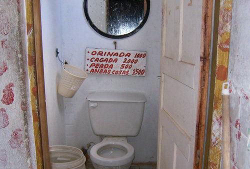 baño colombia humor risa pagar