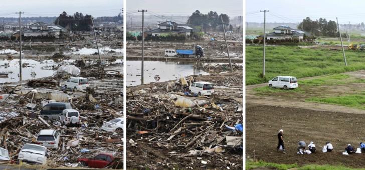 terremoto tsunami japon 2011 2012 antes despues 10