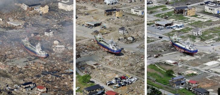 terremoto tsunami japon 2011 2012 antes despues 11