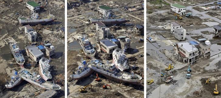 terremoto tsunami japon 2011 2012 antes despues 12