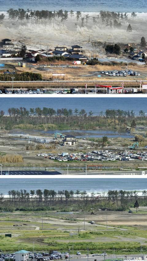 terremoto tsunami japon 2011 2012 antes despues 13