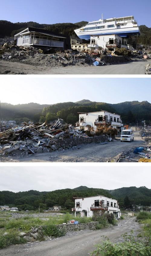 terremoto tsunami japon 2011 2012 antes despues 14