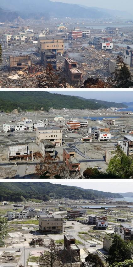 terremoto tsunami japon 2011 2012 antes despues 15