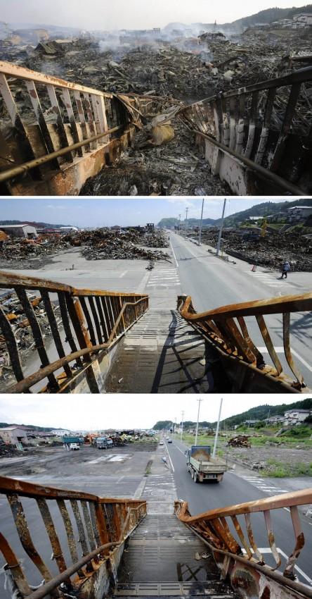 terremoto tsunami japon 2011 2012 antes despues 16