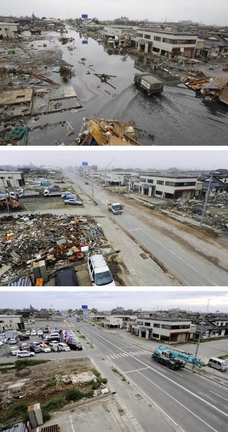 terremoto tsunami japon 2011 2012 antes despues 18