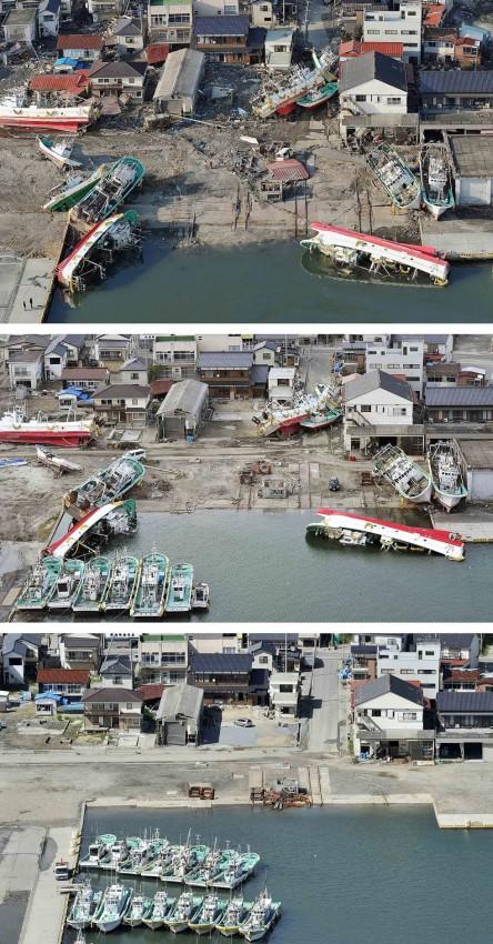 terremoto tsunami japon 2011 2012 antes despues 19