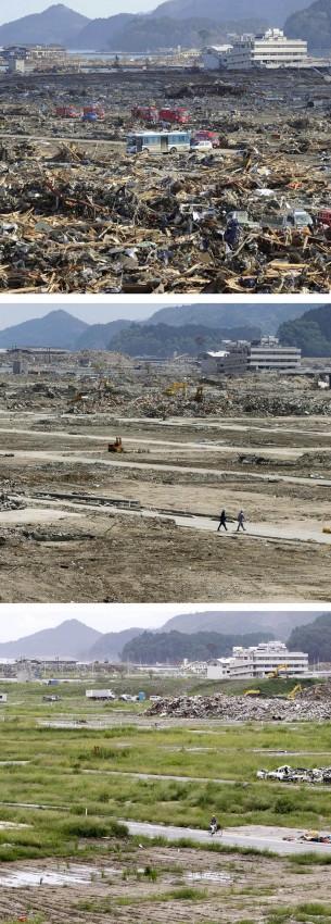 terremoto tsunami japon 2011 2012 antes despues 20