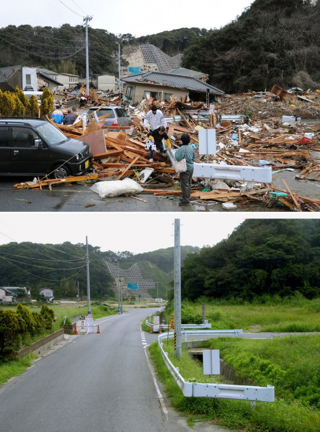 terremoto tsunami japon 2011 2012 antes despues 21