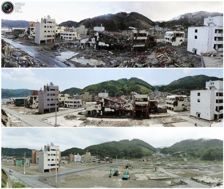 terremoto tsunami japon 2011 2012 antes despues 25