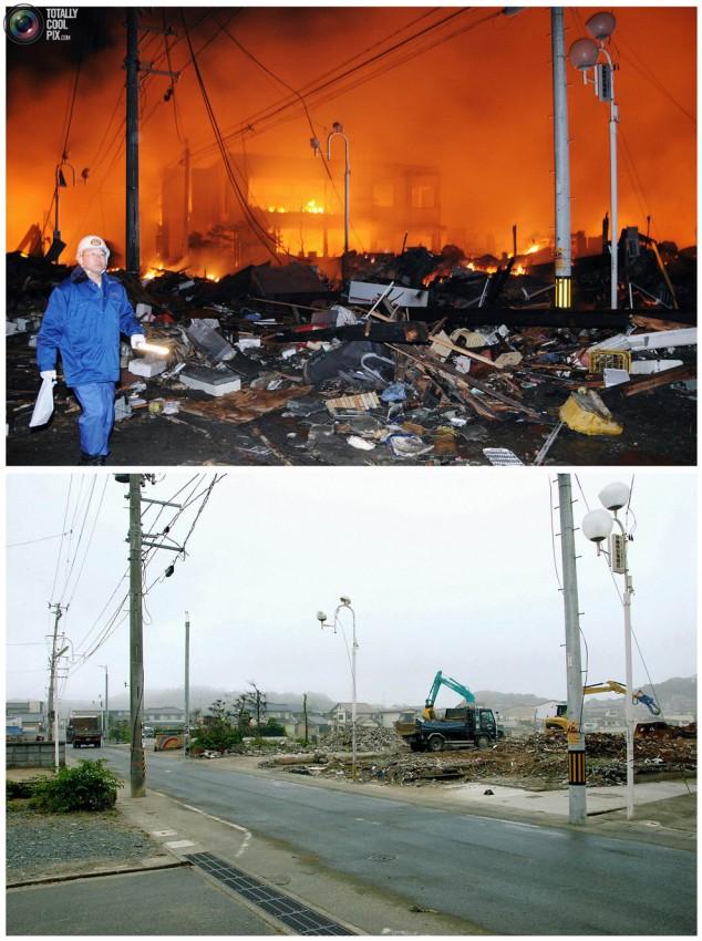 terremoto tsunami japon 2011 2012 antes despues 27