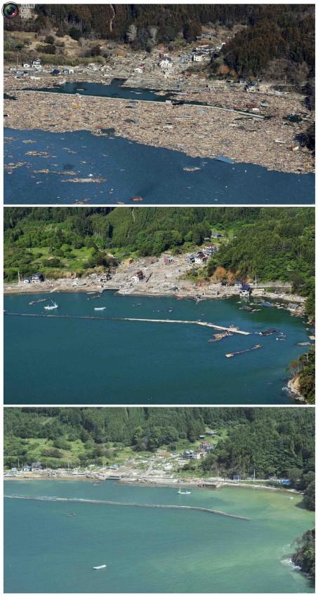 terremoto tsunami japon 2011 2012 antes despues 28