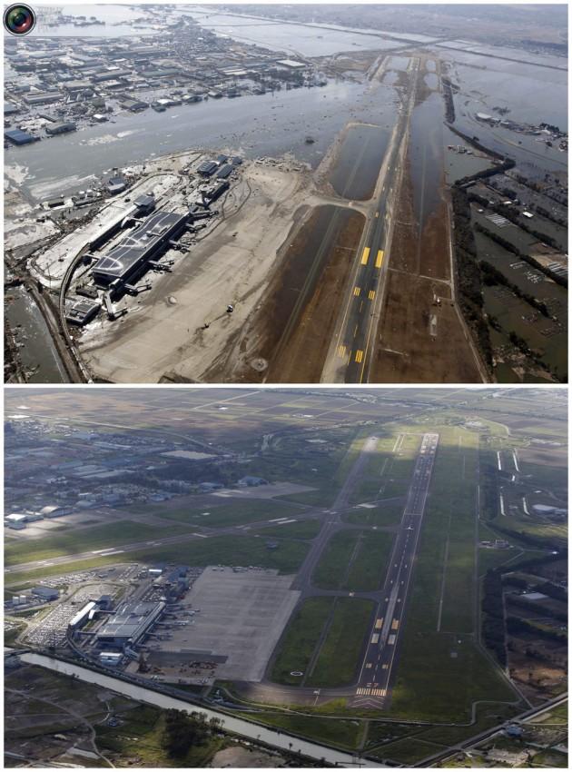 terremoto tsunami japon 2011 2012 antes despues 31
