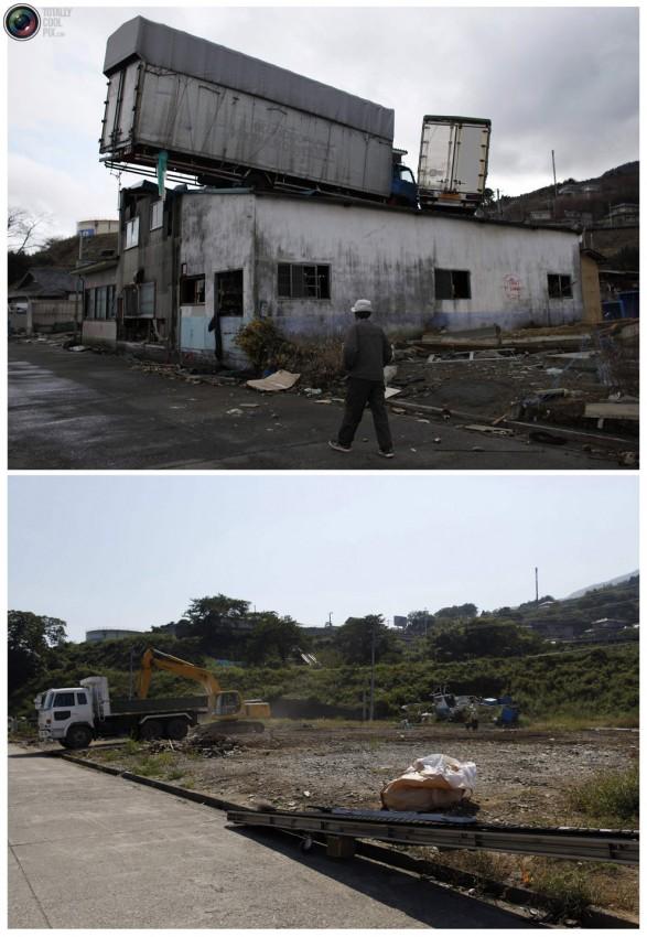 terremoto tsunami japon 2011 2012 antes despues 35