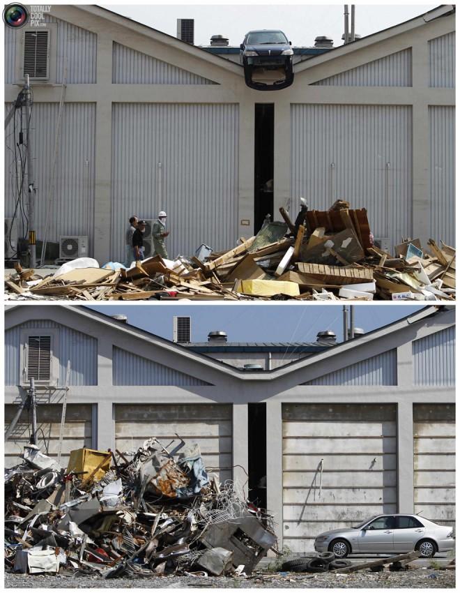 terremoto tsunami japon 2011 2012 antes despues 41