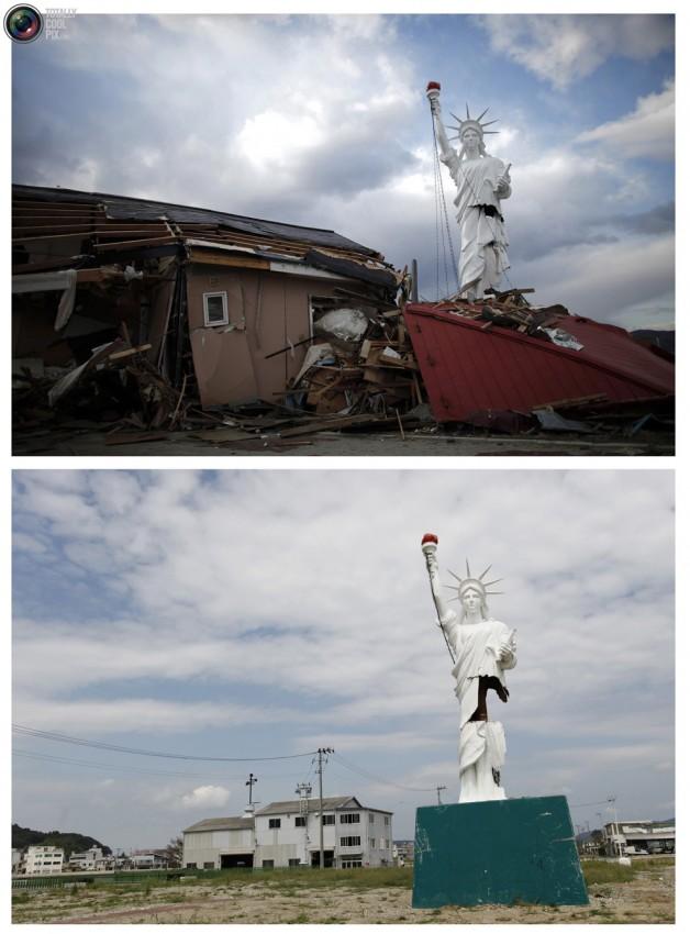 terremoto tsunami japon 2011 2012 antes despues 44