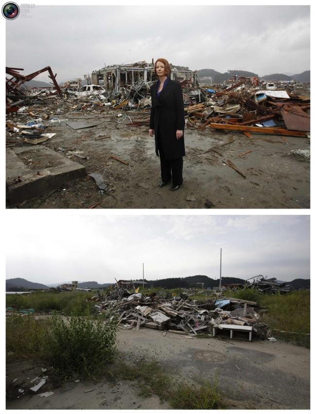 terremoto tsunami japon 2011 2012 antes despues 45