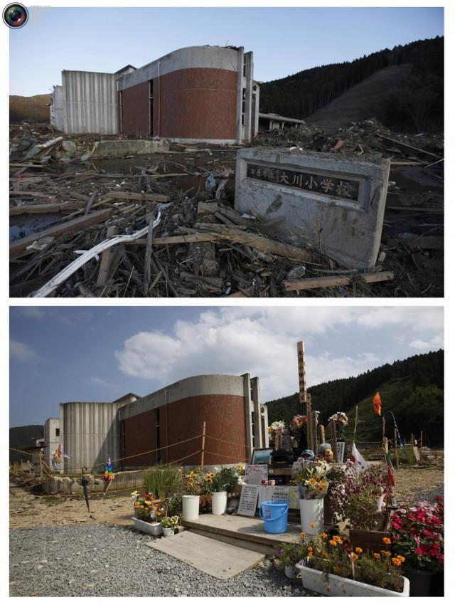 terremoto tsunami japon 2011 2012 antes despues 46