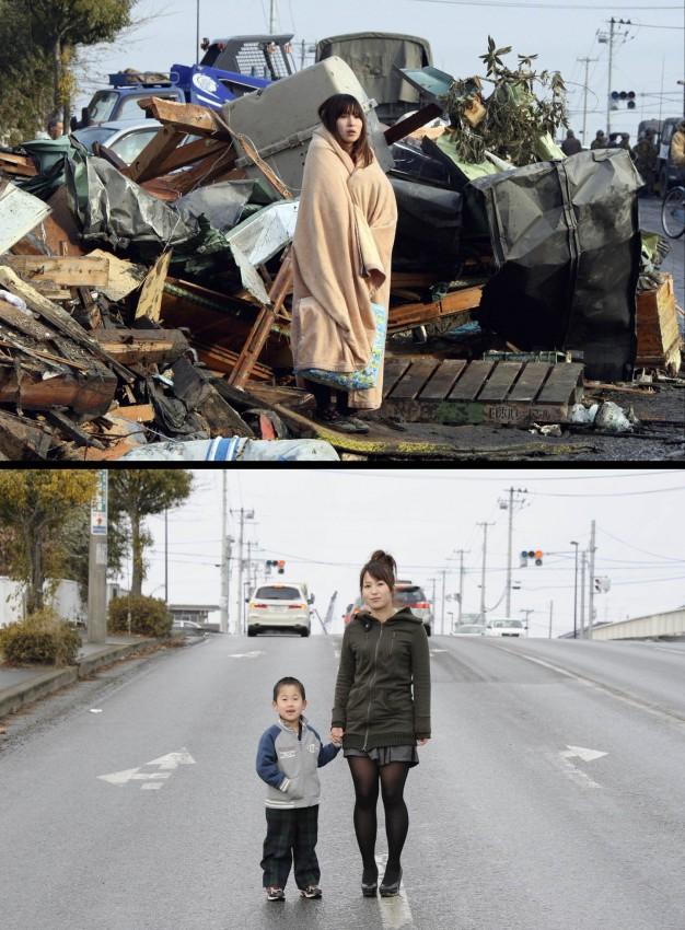terremoto tsunami japon 2011 antes despues Yuko-Sugimoto