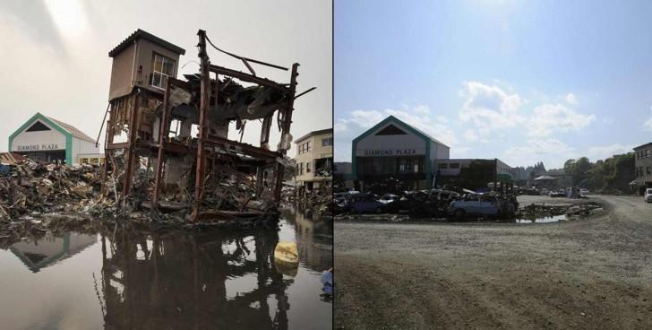 terremoto tsunami japon 2011 comparacion antes despues kesennuma