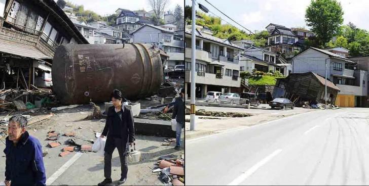 terremoto tsunami japon 2011 comparacion antes despues miyagi