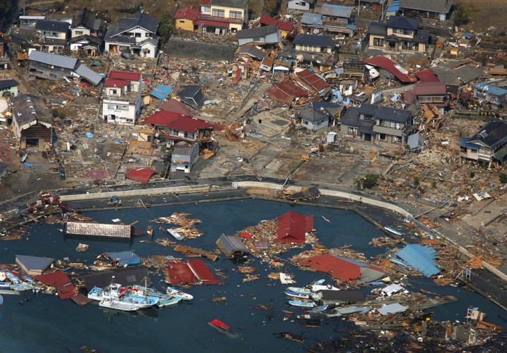 tsunami japon 11 marzo 2011 Kesennuma