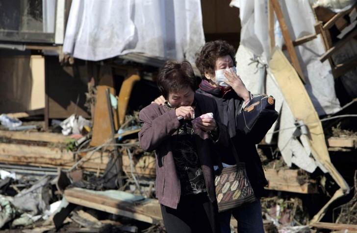 tsunami japon 11 marzo 2011 Minami Soma mujeres