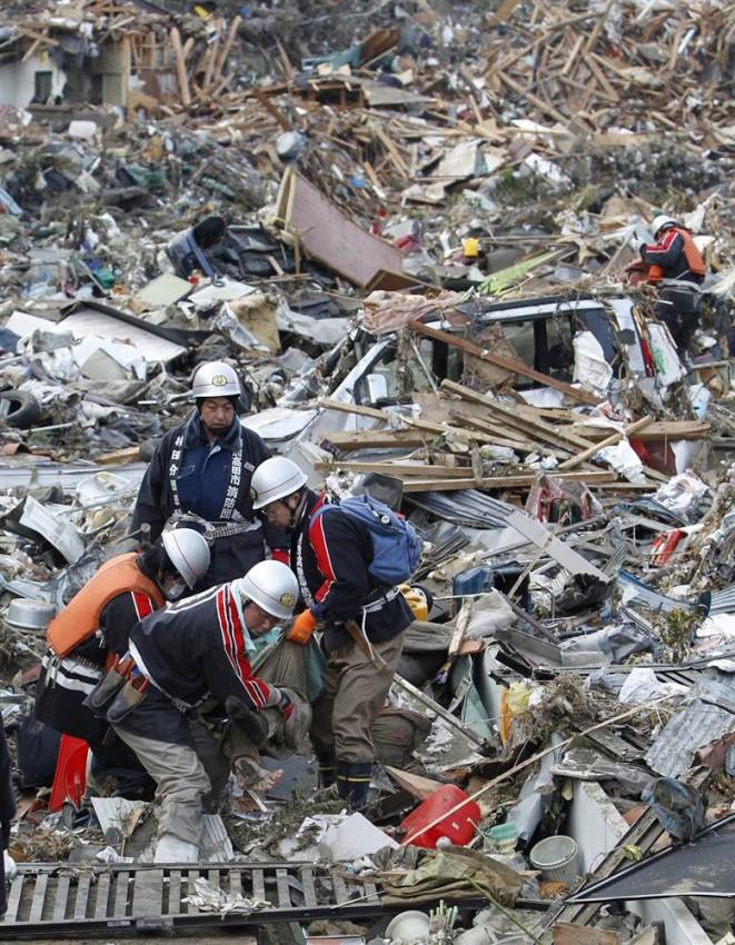 tsunami japon 11 marzo 2011 Rikuzentakata victima