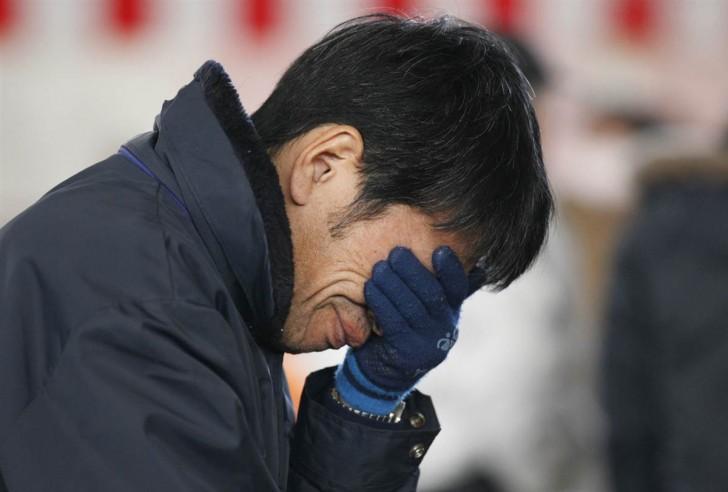 tsunami japon 11 marzo 2011 hombre llorando
