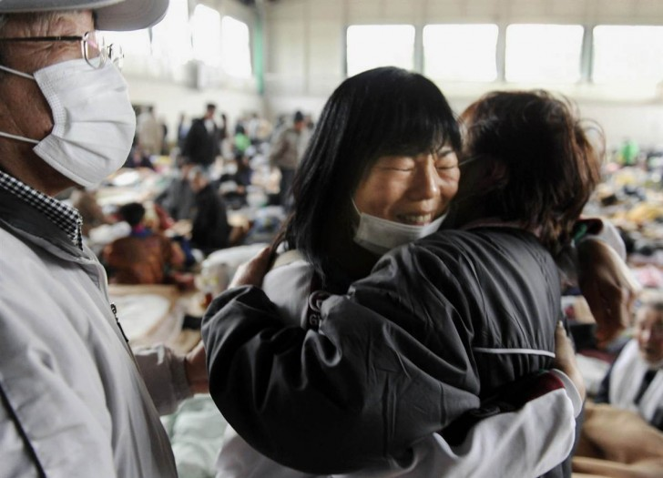 tsunami terremoto japon 2011 Kesennuma reencuentro