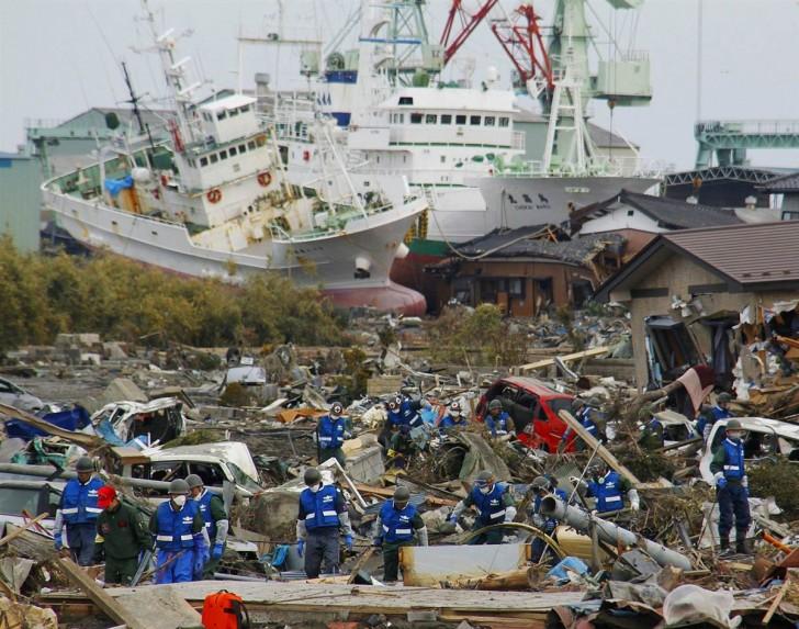 tsunami terremoto japon 2011 Matsushima rescate