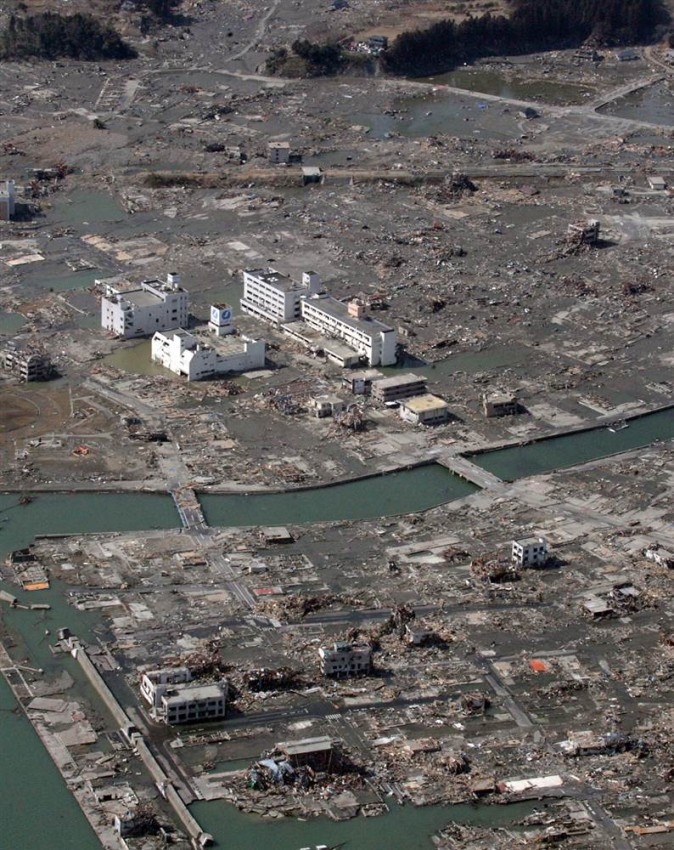 tsunami terremoto japon 2011 Minamisanriku devastado