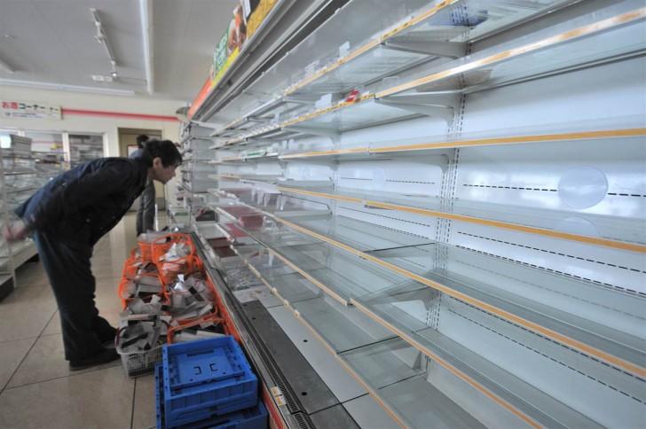 tsunami terremoto japon 2011 supermercado sendai