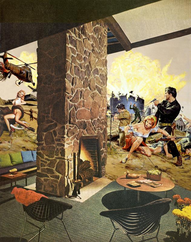 Nadine Bougthon ilustraciones battlecry