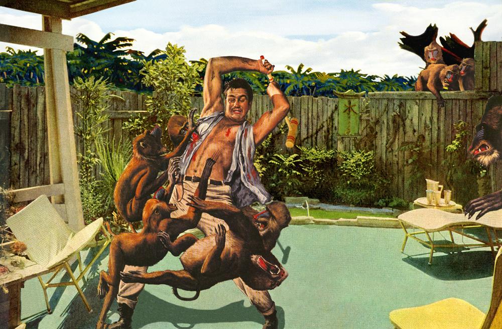 Nadine Bougthon ilustraciones fury