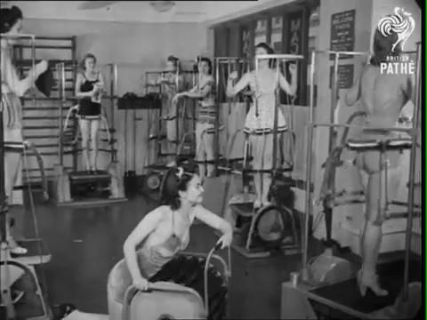 gimnasio decada anos 40 0
