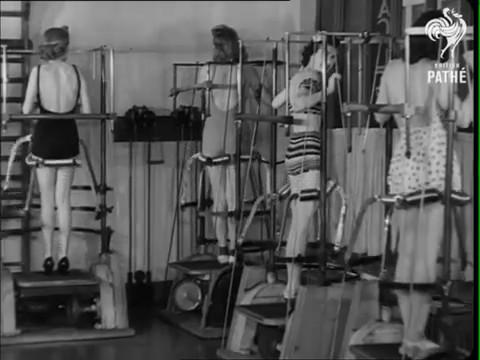 gimnasio decada anos 40 1