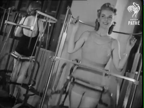 gimnasio decada anos 40 4