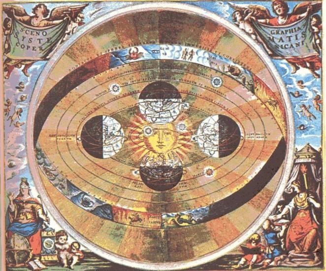 heliocentrismo copernico universo sol centro