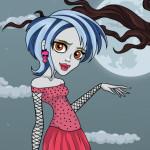 Juego de peluquería y maquillaje con Ghoulia Yelps