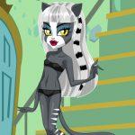 Juego de vestir a las chicas gato