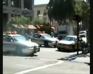 videos personas suerte policia ladrones