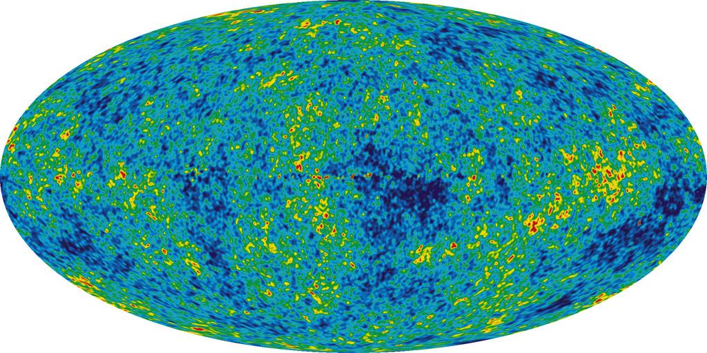 wmap radiacion de fondo big bang