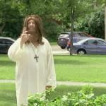 Jesús convirtiendo el agua en vino