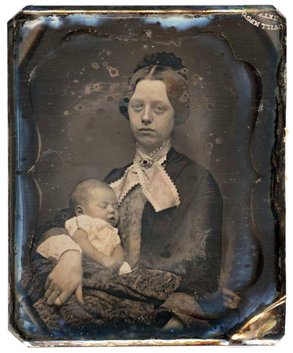 fotografias post mortem madre hijo