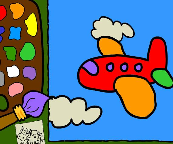 juego colorear escenarios